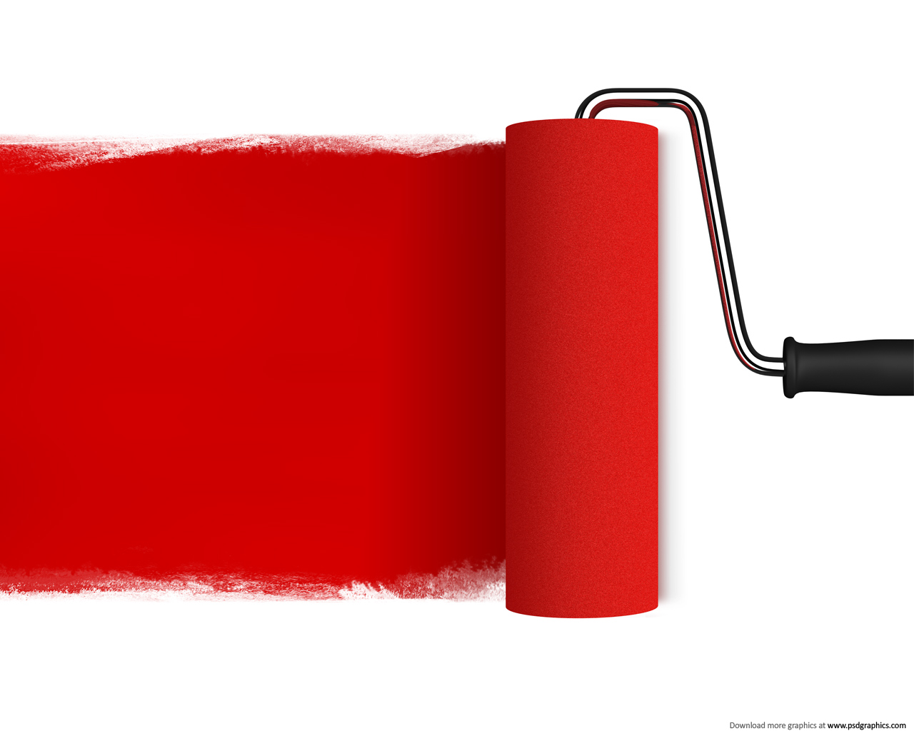 Red Background Art Craft